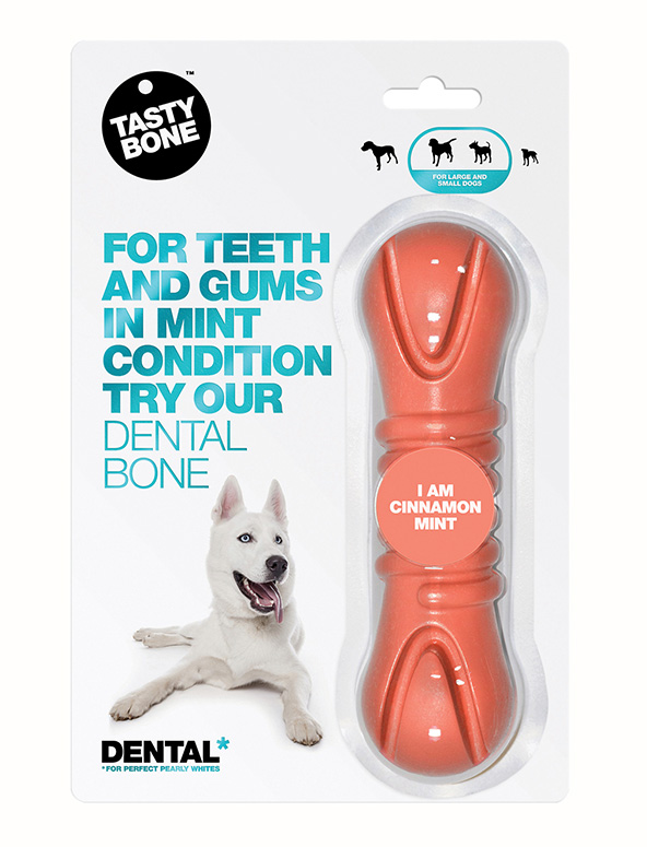 Dental Bone Small/Large Cinnamon Mint
