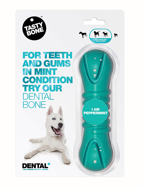 Dental Bone Small/Large Peppermint